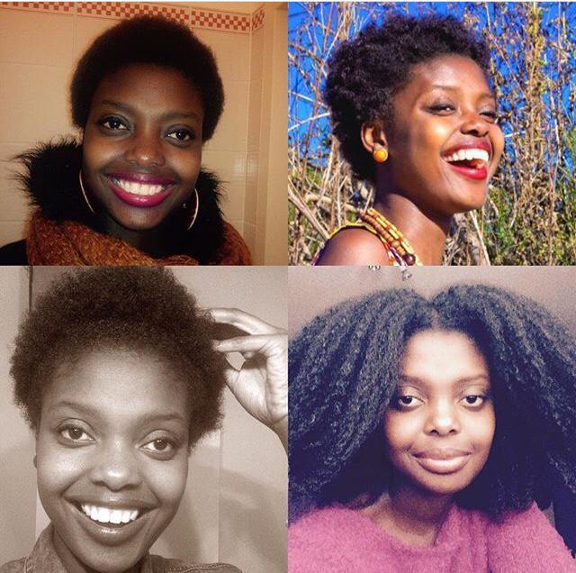 blaqrose collage Haare meineafrohaar.com
