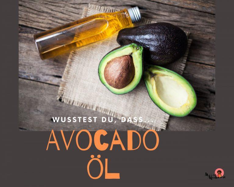 Avocadoöl für die Haarpflege