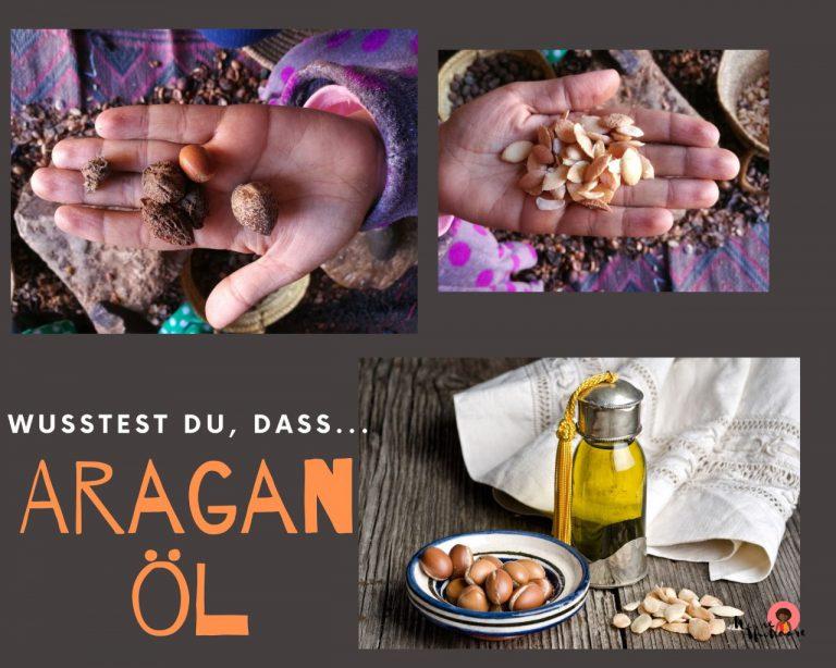Araganöl für die Haarpflege