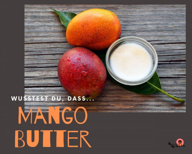 Mangobutter für die Haarpflege