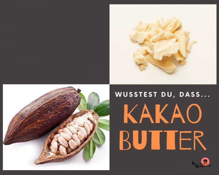 Kakaobutter für die Haarpflege