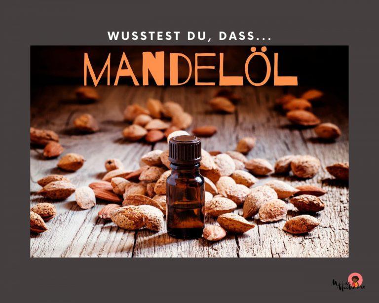 Mandelöl für die Haarpflege